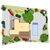 Landscape design templates residential landscape design malvernweather Images