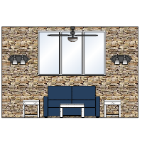Living Room Elevation Examples