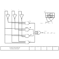 logic diagram karnaugh map