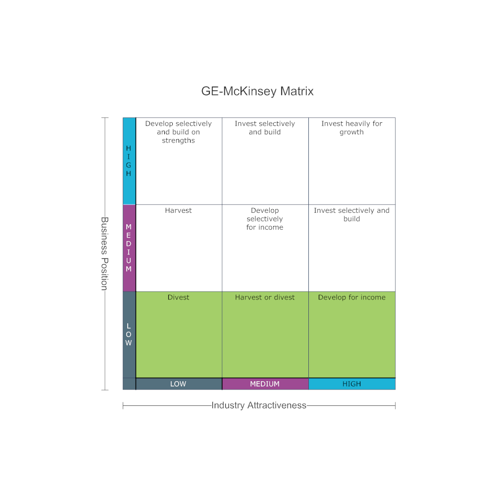 Example Image: GE-McKinsey Matrix