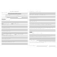 Suicide Worksheet