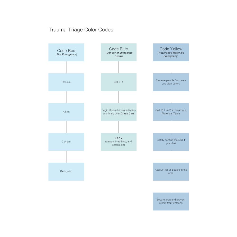 Process flow diagram color code wiring diagram trauma triage color codes flowchart code flow diagram shapes meaning process flow diagram color code ccuart Choice Image
