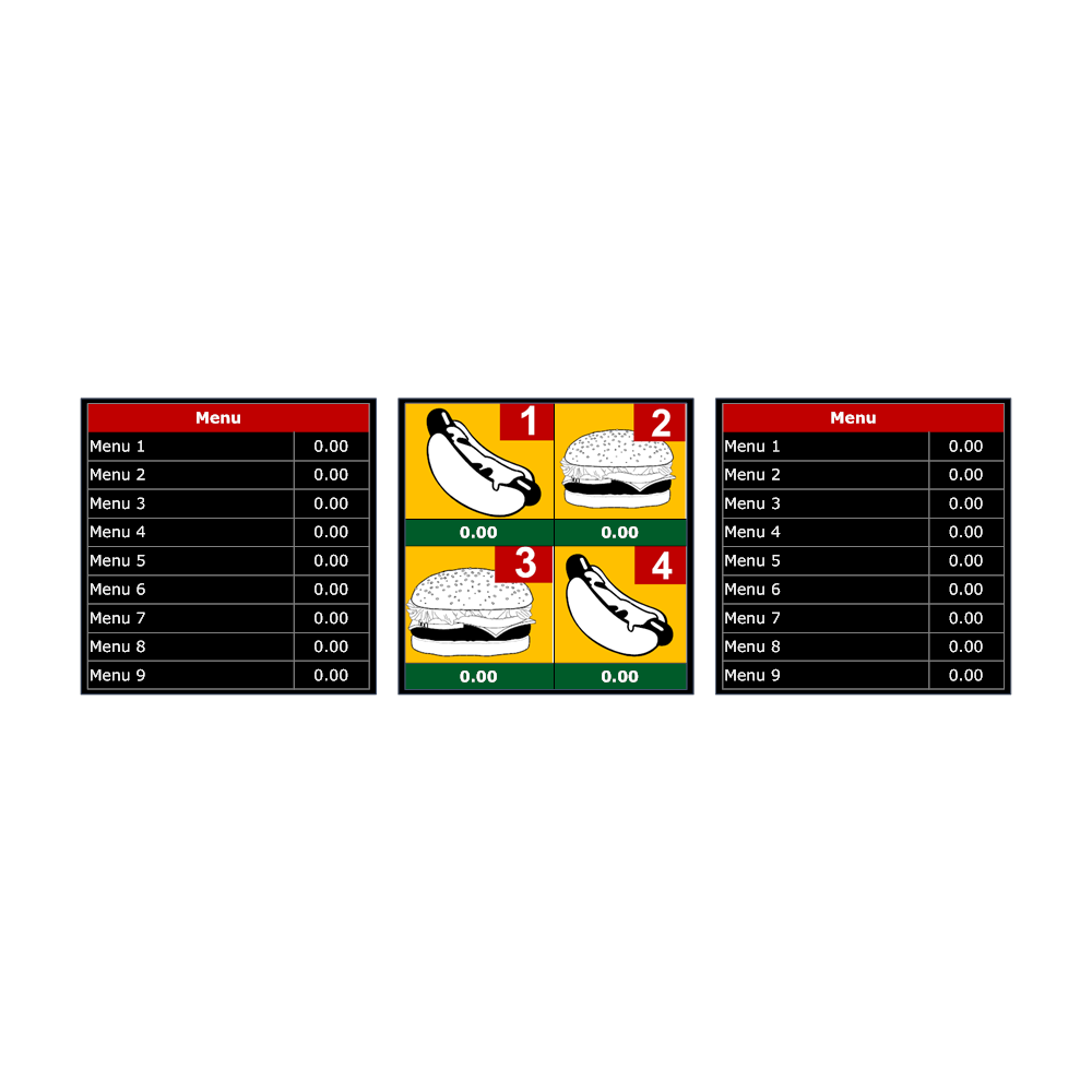 Example Image: Menu Board Template 2