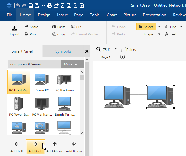 Line Drawing Software For Pc : How to draw network diagrams