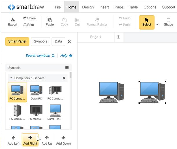 Network Diagram Software - Free Download or Network Diagram Online