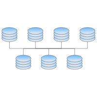 LAN Center Network Topology