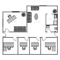 Office floor plan templates for Smartdraw certificate templates