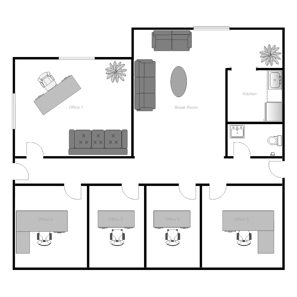 examples of floor plans office building floor plan 17499