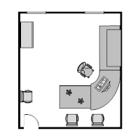 Office Floor Plan Templates - Reception floor plan templates