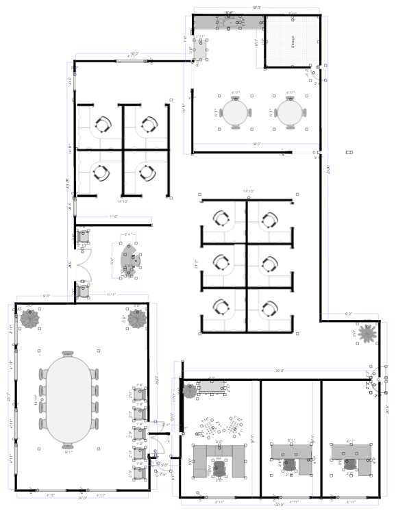 High Quality Office Plan