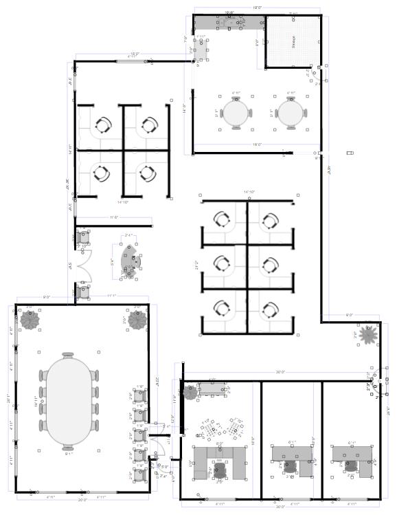 Delightful Office Plan