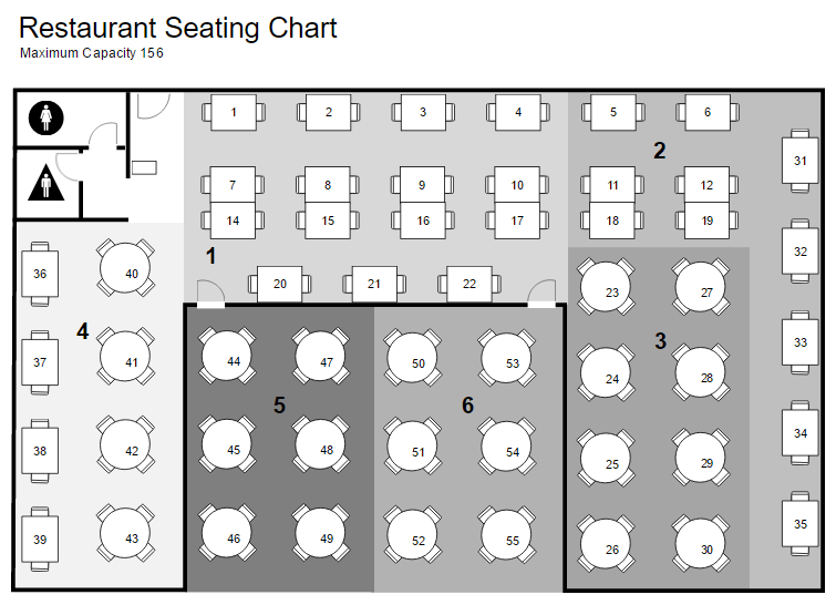 Office Layout Planner – Office Seating Plan Template