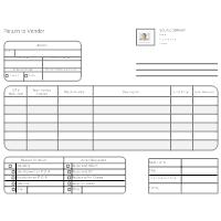 new vendor form template