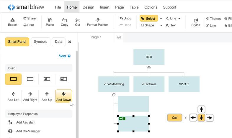 org chart software create organization charts free