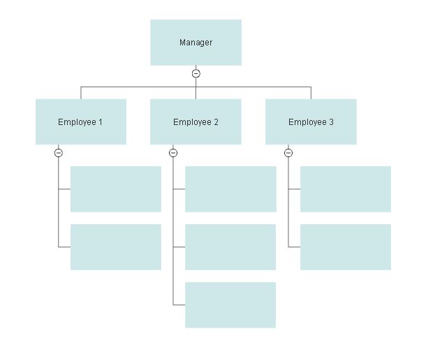 image regarding Blank Chart Template titled Organizational Chart Templates - Templates for Phrase, PPT and