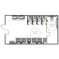 Awe Inspiring Public Restroom Plan Examples Largest Home Design Picture Inspirations Pitcheantrous