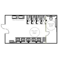 public toilet design plan. Public Restroom  1 Toilet Floor Plan The Ground Beneath Her Feet