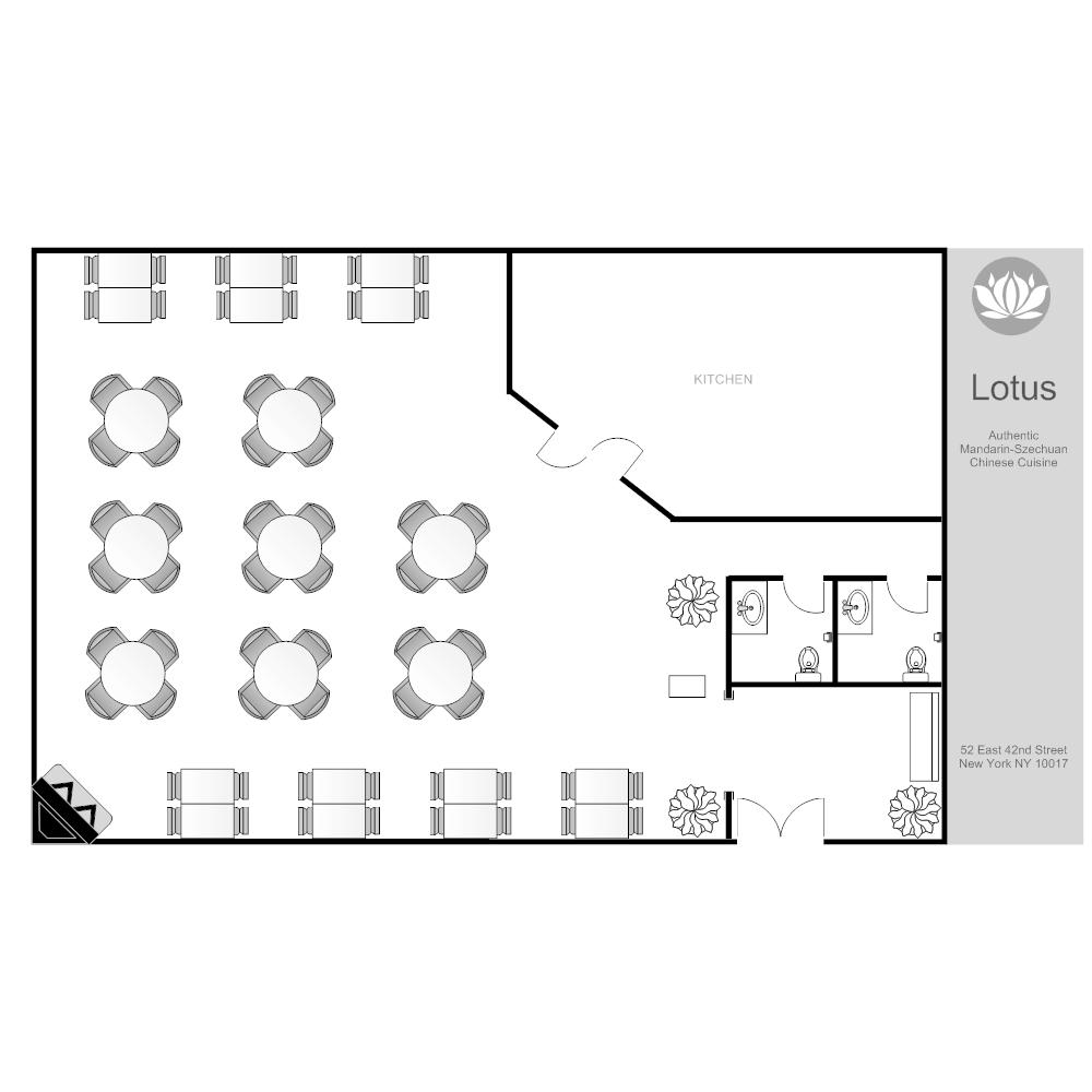 100+ [ Free Restaurant Floor Plan Software ]   Restaurant Layout ...