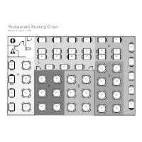 Restaurant Seating Chart Edit This Example Layout