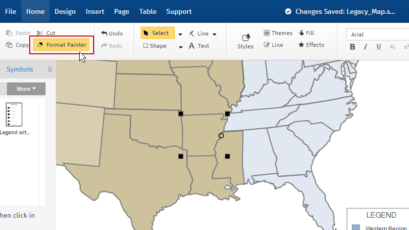 How to Make a Sales Territory Map Sales Region Map on country maps, sales area maps, sales geography maps, phone maps,