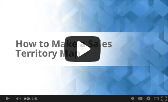 Sales Territory Map Video