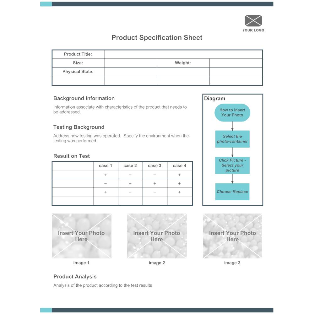 product specification sheet 01. Black Bedroom Furniture Sets. Home Design Ideas