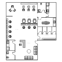 Floor plan examples salon floor plans malvernweather Gallery