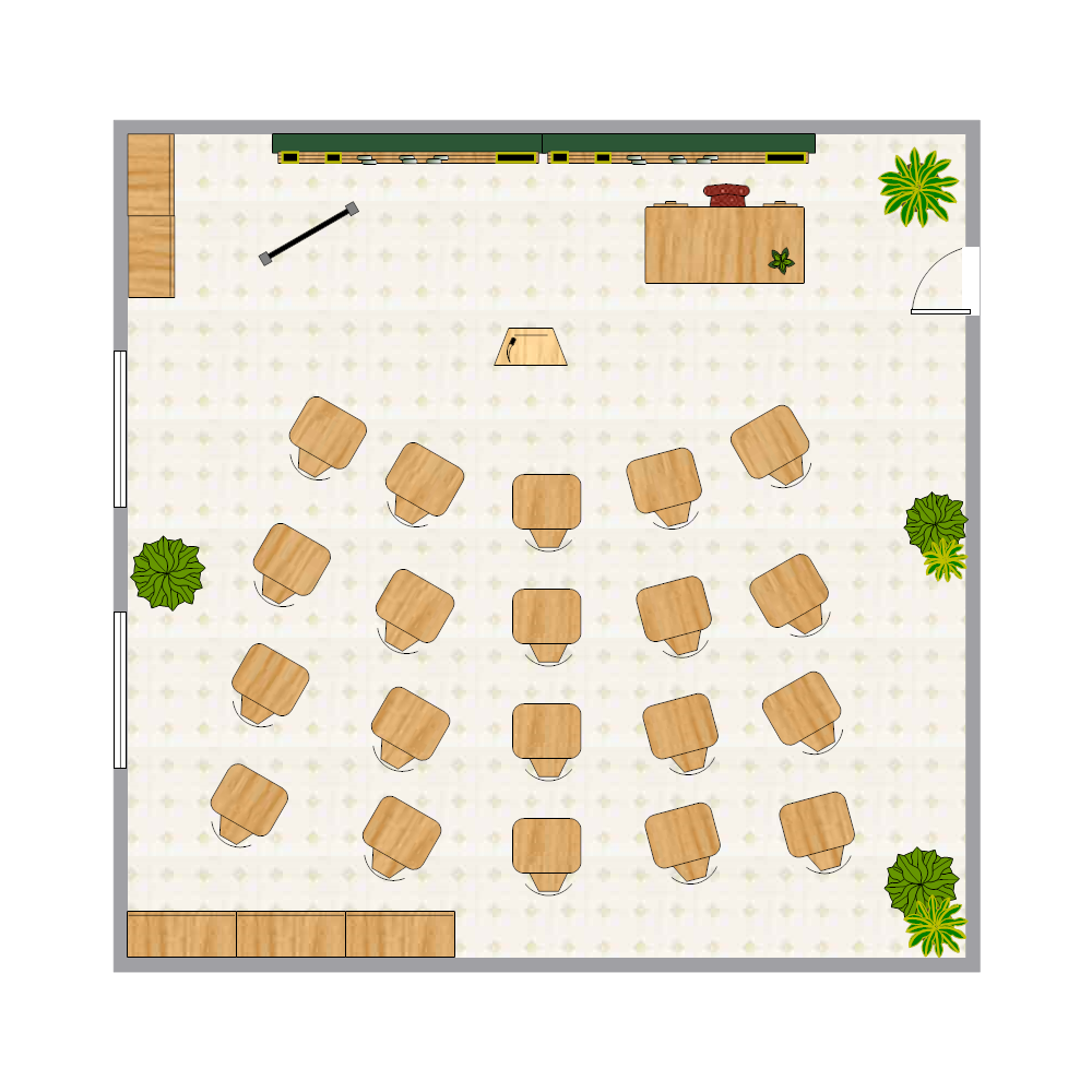 class room seating chart