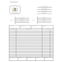 shipper template