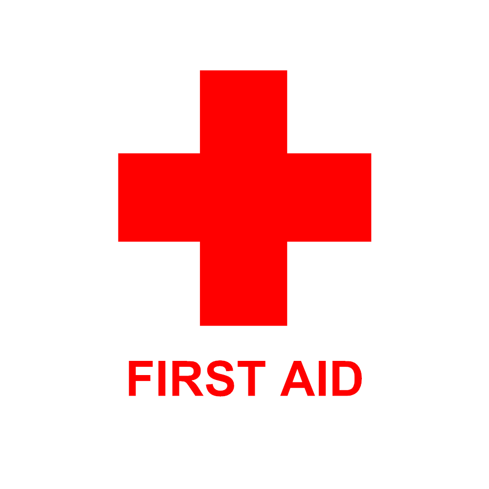 Example Image: First Aid Sign