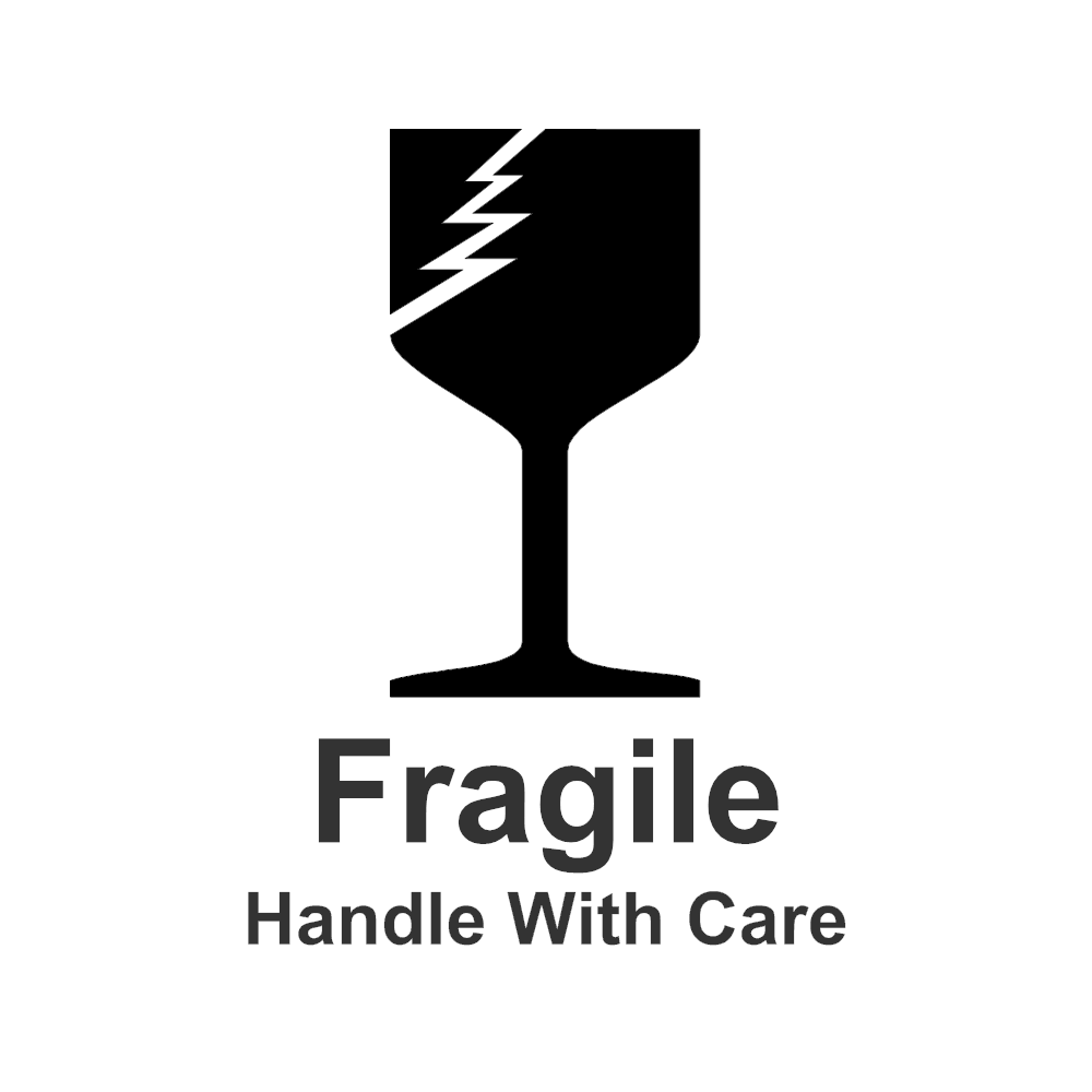 Example Image: Fragile Sign