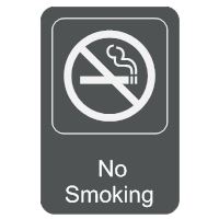 No Smoking Sign Template. no smoking sign in english and chinese ...