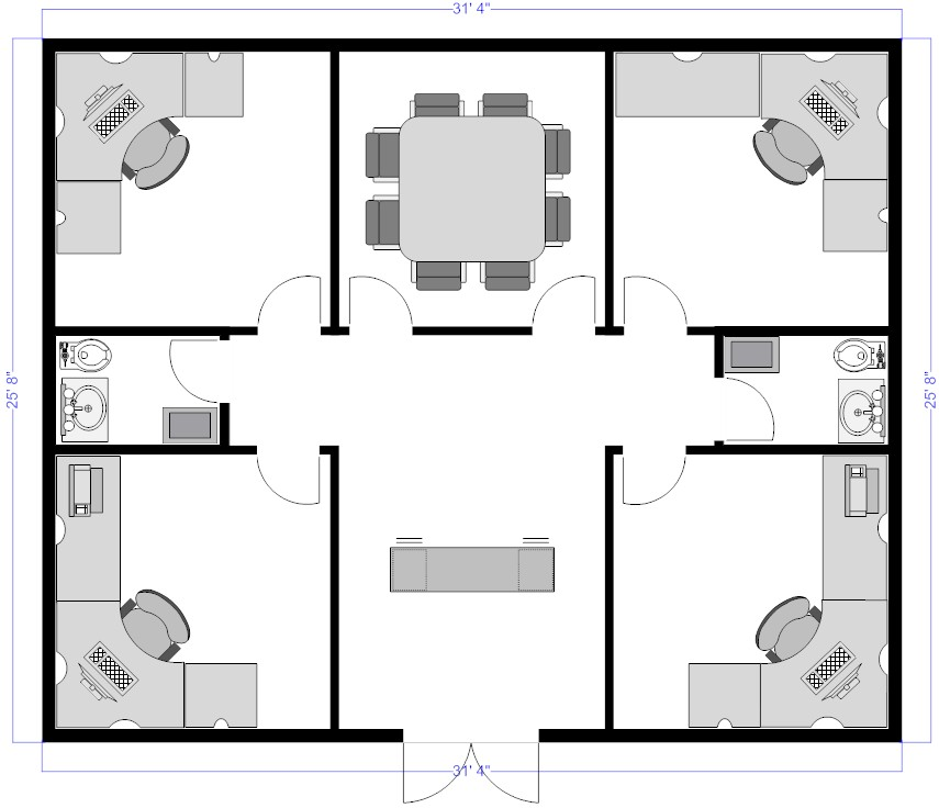 Warehouse layout design software free download for Design office layout online free