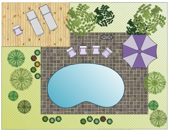 Garden design layout software free download for Pool drawing software