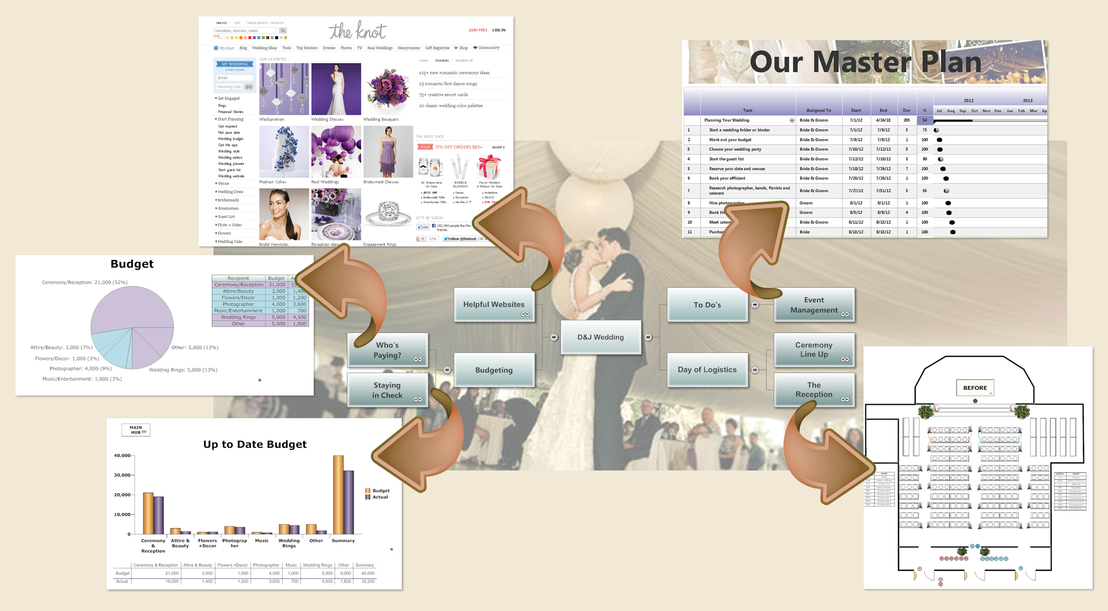 Banquet planning software make plans for banquets Room layout design software