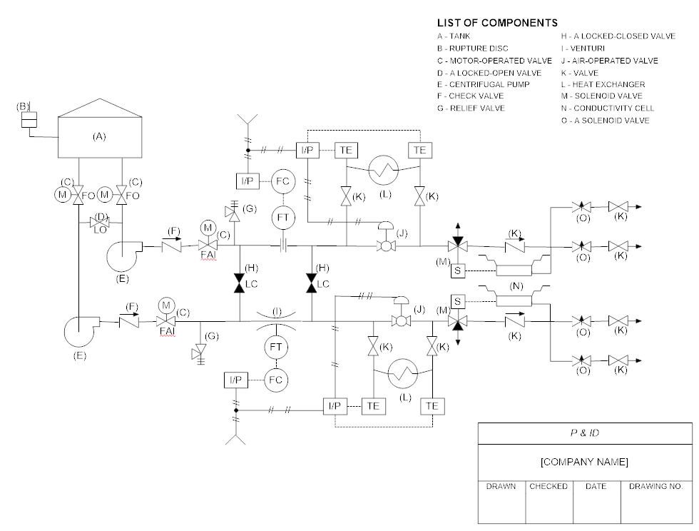 Piping Schematic Diagram