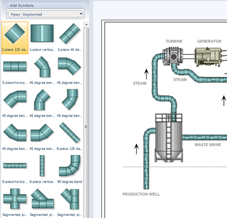 p id software get free symbols for piping and instrumentation diagrams rh smartdraw com piping layout drawings abbreviations and legends piping layout drawing pdf