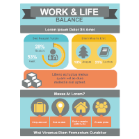 Work & Life Infographic