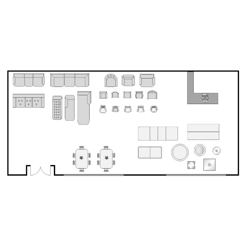 furniture store layout