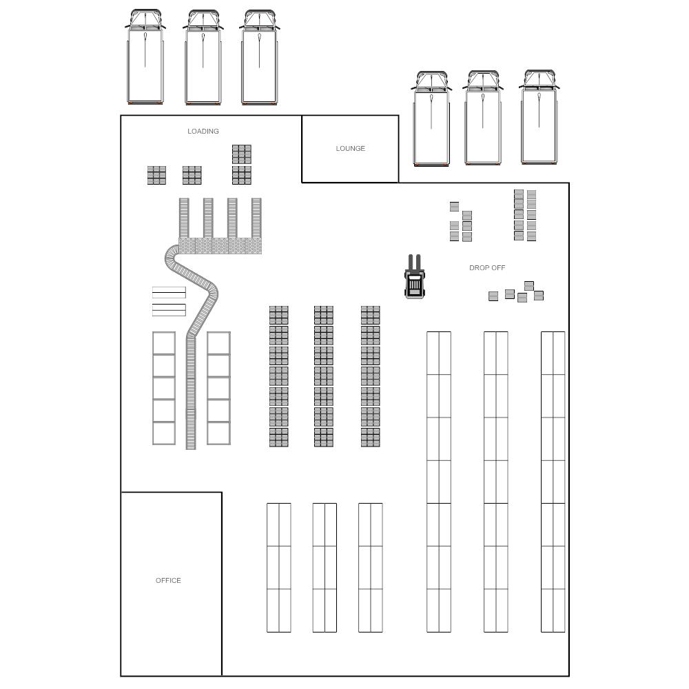 Warehouse floor plan design software gurus floor for Warehouse layout design software