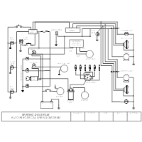Domestic Wiring Diagram from www.smartdraw.com
