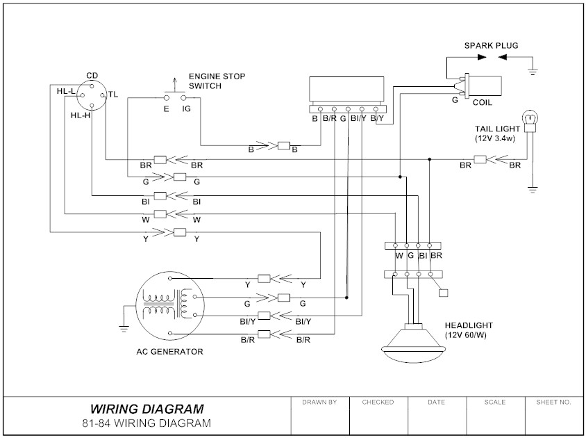 wiring diagram everything you need to know about wiring diagram rh smartdraw com House Electrical Circuit Diagram Four-Conductor Branch Circuit Connection